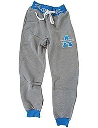 "Jogginghose ""58"" für Männer / Herren - hellgrau / blau"