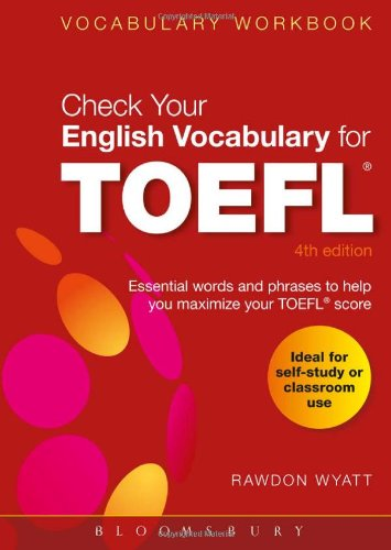 Check Your English Vocabulary for TOEFL: All You Need to Pass Your...