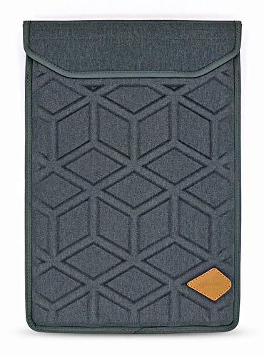 Targus Damen Tragetasche (Lymmax Laptophülle für 15,6 Zoll (39,6 cm), stoßfest, vertikale Tasche mit Reißverschlusstasche, Wasserdichte Eva-Tragetasche mit gepolstertem Griff, Dunkelgrau)
