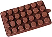 Smile Face Emoji Mold Silicone Fondant Mold Cake Decorating Pastry Gum Ice Tool Kitchen Tool Sugar Paste Bakin