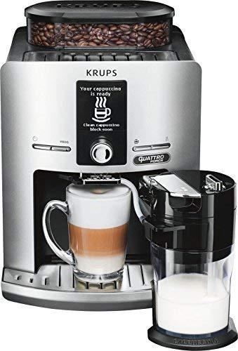 KRUPS EA82FE Latt´Espress Quatrro Force silber Kaffeevollautomat EA 82 FE