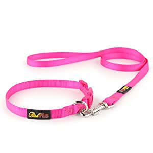 Essential-Pink-Dog-Collar-and-Matching-Lead