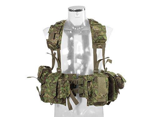 BE-X Kampfmittelweste EPHOD / IDF mit abnehmbarer Erste-Hilfe Tasche - PenCott Greenzone