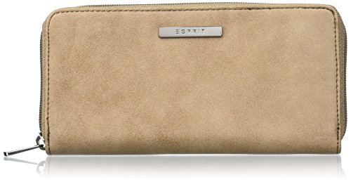 ESPRIT 116ea1v010, Portafogli Donna, 1x9x19 cm (B x H x T) Marrón (225 TOFFEE)