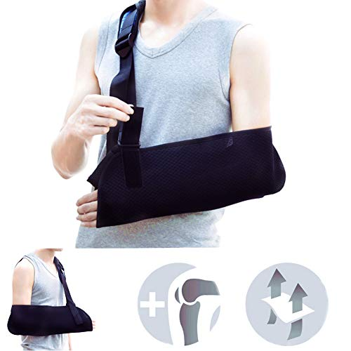 Armschlinge, Universal Pediatric Arm Sling Verstellbare Weiche Gepolsterte Schultergurt für Kinder Unisex Klein -
