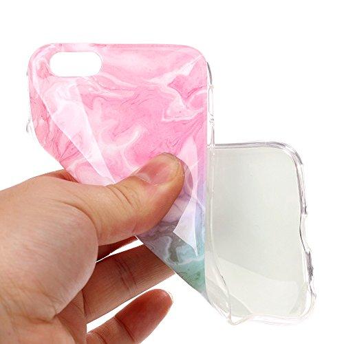 """iPhone 6sPlus Schutzhülle, Neue Marmor CLTPY iPhone 6Plus Schlank Hybrid Handytasche Leichtbau Gummi Abdeckung Luxus Bunt Motiv Back Cover für 5.5"""" Apple iPhone 6Plus/6sPlus (Nicht iPhone 6/6s) + 1 x  Grün"""