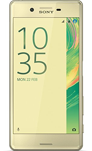 Image of Sony Xperia X Smartphone (5 Zoll (12,7 cm) Touch-Display, 32GB interner Speicher, Android 6.0) Lime Gold