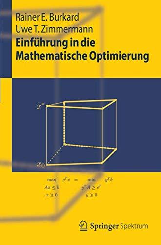 Einführung in die Mathematische Optimierung (Springer-Lehrbuch)
