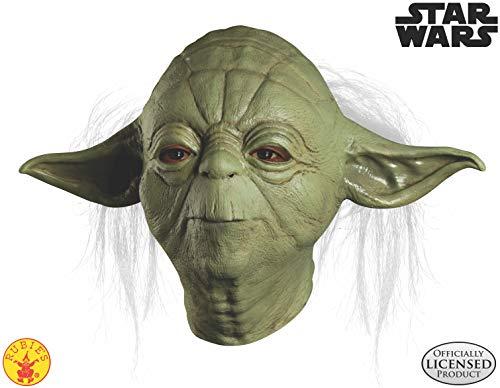 Rubies Kost-me Star Wars Yoda Overhead Latex Maske - Erwachsene - One-Size