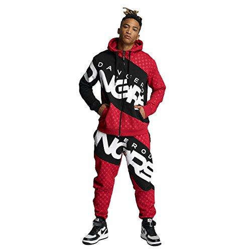 Dangerous DNGRS Männer Sport-Anzug Toco Suit in rot M