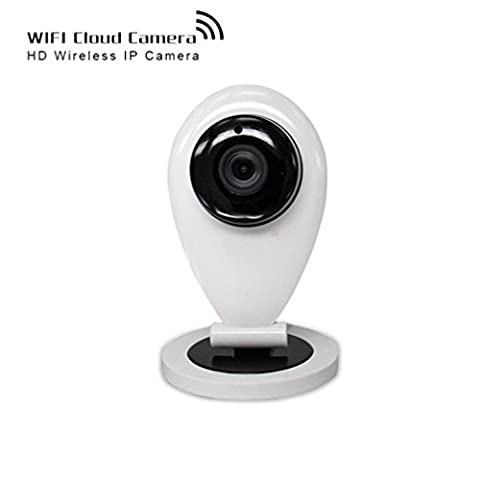 shengyaohul 720P Full HD Home Security, Indoor Home Automation Security Cameras with Vision nocturne à infrarouge/Interphone/Alarme Système de caméra de surveillance vidéo IP caméra IP