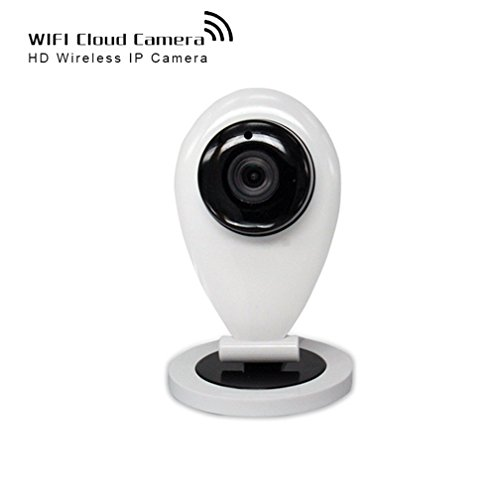shengyaohul Full HD 720P IP Video-Überwachungskameras, Indoor White IP Security Camera IP Kamera with Alarm System/Gegensprechanlage/Infrarot-Nachtsicht-Kameras - Infrarot-system Security-kameras