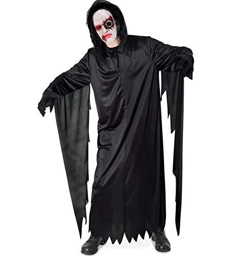 KarnevalsTeufel Hallowennkostüm Darkman, Gruselkostüm, Geisterkostum, Kutte mit Kapuze - Kostüm Darkman