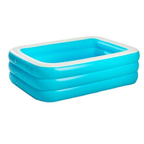 Mustbe strong Kinder Pool Aufblasbare Paddeln / Schwimmbad Verdickte Erwachsene Aufblasbare Pool Super High Familie Kind Drama Pool Jacuzzi , 150*110*50cmfor Outdoor