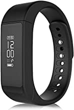 SmartBand pulsera de zkcreation i5 Plus Fitness Rastreador podómetro Sleep Calidad Moniter Reloj Pulsera Inteligente para Android IOS