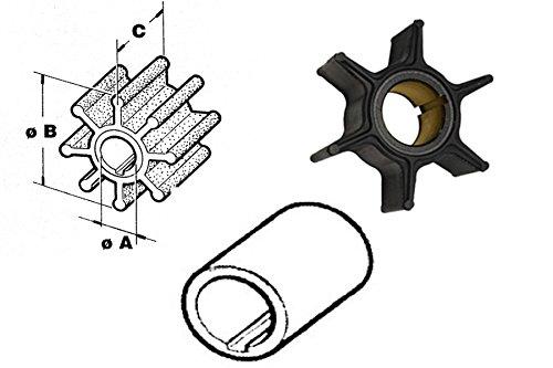 CEF Impeller 500320 Ersatz für Mariner-Mercury-Mercruiser 47-84027 Yamaha 682-44352-01-00 (Mariner Impeller)