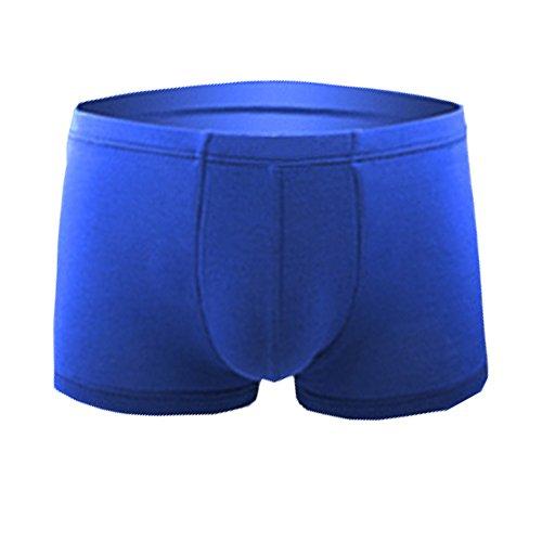 Meng Qisha Herren Boxershort black/grey/deep blue/Sapphire blue