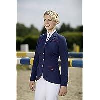 HKM PRO TEAM Equitación Blazer–International de, color azul oscuro, tamaño 12 años (152 cm)