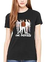 Official One Direction New Standing Women's T-Shirt 1D San Siro Midnight Memories