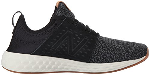 New Balance Herren Fresh Foam Cruz Hallenschuhe Schwarz (Black/White)
