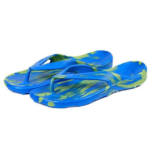 Soles Aussie - Sandali Unisex Adulti Bleu / Vert