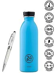 24 Bottles Bottiglia di acqua Urban 250 ml | 500 ml | 1000 ml colori diversi 24bottles, Contenuto:500 ml, Colore:lagoon blue