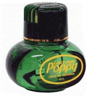 Original Poppy Duftspender (Pinie, ohne Beleuchtung) ✓ Elegantes Flakon ✓ Für Auto & LKW ✓ Mit LED-Licht | Lufterfrischer, Autoduft auf flüssiger Basis als LKW-Zubehör | Raumerfrischer, Raum-Duft für die Wohnung | Raum-Parfum beseitig unangenehme Gerüche