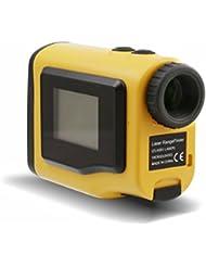 Posma Gf600NEUF Télémètre Golf–Golf Scope–600m Handheld Télémètre laser 4modes avec écran LCD externe mise au point réglable Slope Mode brouillard Mode de compensation à distance pour golf gratuit de la batterie gratuit Sac de transport Jaune