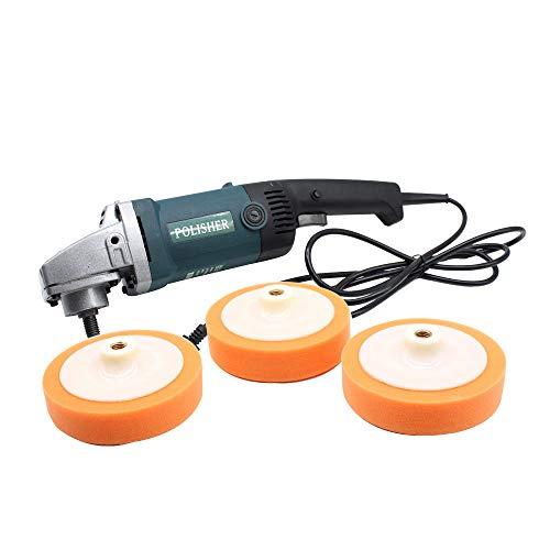 SENDERPICK Auto Poliermaschine Set, 1400 Watt Auto Polierer Sander Buffer Variable 6 Schnellwahl Werkzeug-set 220 V + Box