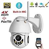 DUABOBAO Drahtloses Sicherheitskamera-System, 360-Grad-Intelligente Überwachung, Smart Home HD Outdoor-Indoor-Und Outdoor-WiFi-Netzwerk-Kamera Mit Nachtsichtfunktion