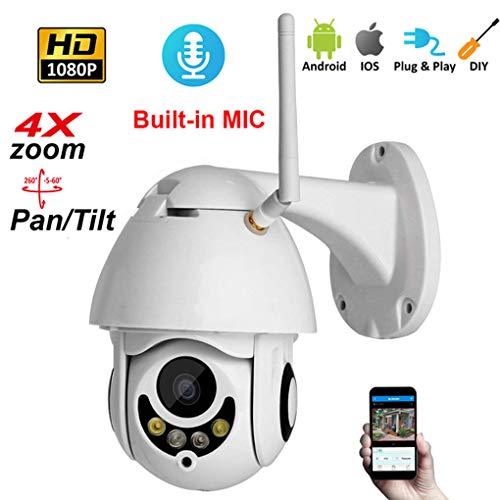 Love Life Drahtloses Sicherheitskamera-System, 360-Grad-Intelligente Überwachung, Smart Home HD Outdoor-Indoor-Und Outdoor-WiFi-Netzwerk-Kamera Mit Nachtsichtfunktion (Apps Life Kostenlose Sporting)