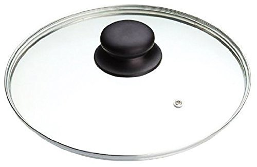 Tempered Glass Vented Spare Replacement Pan Lid Saucepans, Wok, From 14cm - 36cm(28cm)