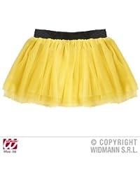 Widmann 9520Y - Neongelbes Tütü für Erwachsene