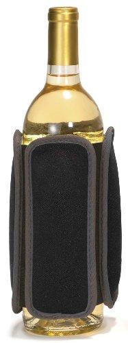 Metrokane Rabbit Refroidisseur de bouteille de vin-Noir