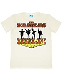 The Beatles - Vintage Help Easyfit T-shirt - blanc antique - Design original sous licence - LOGOSHIRT