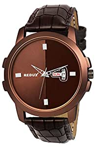 Redux Analogue Brown Dial Men's Watch RWS0217S