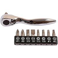 Laser 6049 - Set da 10 micro inserti per cacciavite