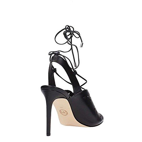 Michael Kors 40S7THHS1L Sandal Femme Noir