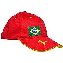 11a742f46417a Amazon.es  gorra ferrari - Rojo