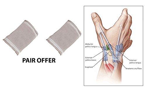 Mueller Sport Care M-wrap (New Advance verstellbar Gummizug kompressives Handgelenkbandage Unterstützung (Paar) Sport Wrap/– Gurt, Unterstützung für Schmerzen, Zerrungen und milden Verstauchungen–Unterstützung für Arthritis, Bursitis und Tendinitis von Solace Care)