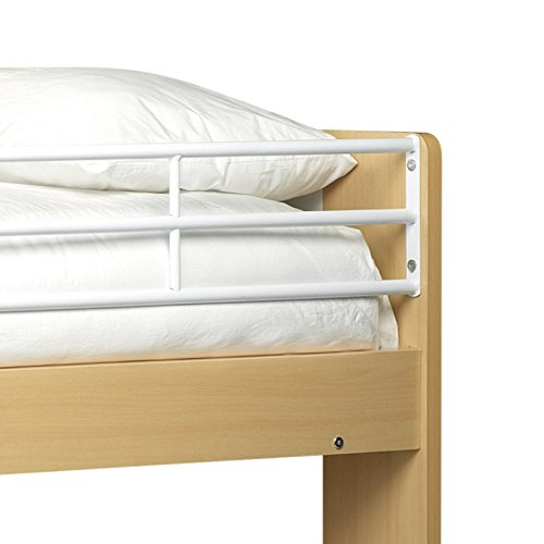 Julian Bowen Domino Bunk Bed - Single, White/Maple Finish
