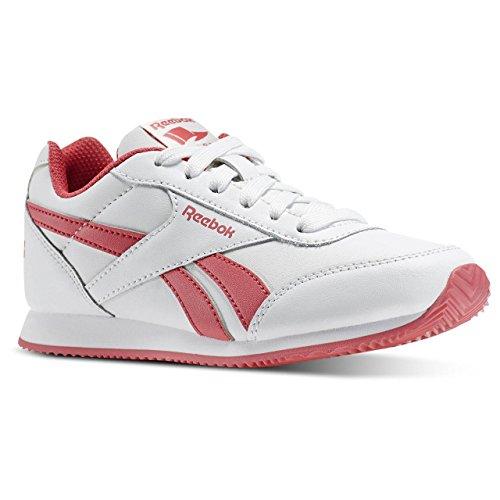 Reebok Royal Cljog 2, Chaussures de Running Compétition Fille Blanc