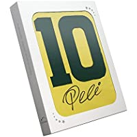 exclusivememorabilia.com Camiseta de fútbol Brasil número Diez firmada por Pelé. En Caja de Regalo