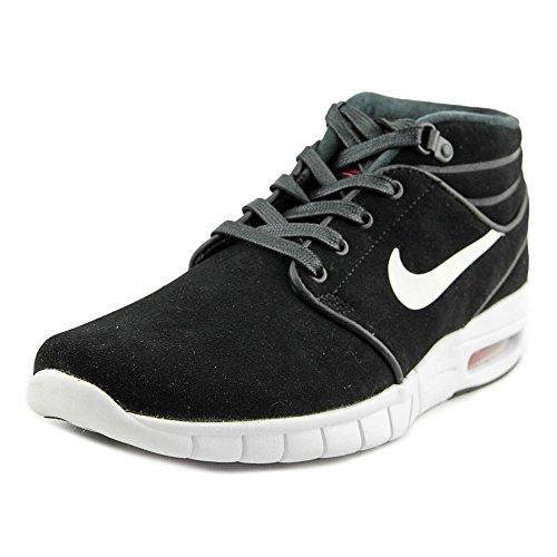 Nike Stefan Janoski Max Mid L, Chaussures de Skate Homme Multicolore - Negro / Blanco / Rojo (Black / White-University Red)