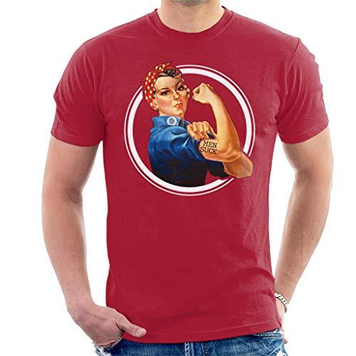 Anti Men Suck Tattoo Men's T-Shirt