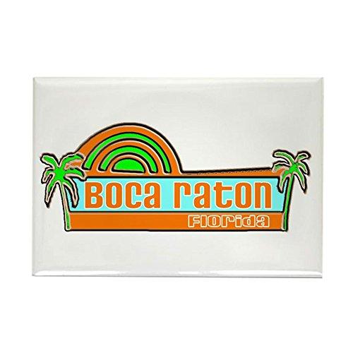 CafePress-Boca Raton, Florida-Rechteck Magnet, 5,1x 7,6cm Kühlschrank Magnet