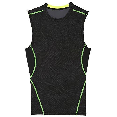 Canotta da uomo Shaper Top, Canotta sportiva da allenamento Body Fitness T-shirt 04