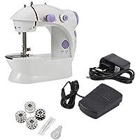 Máquina de coser, mini escritorio eléctrico del hogar de la máquina de coser con la
