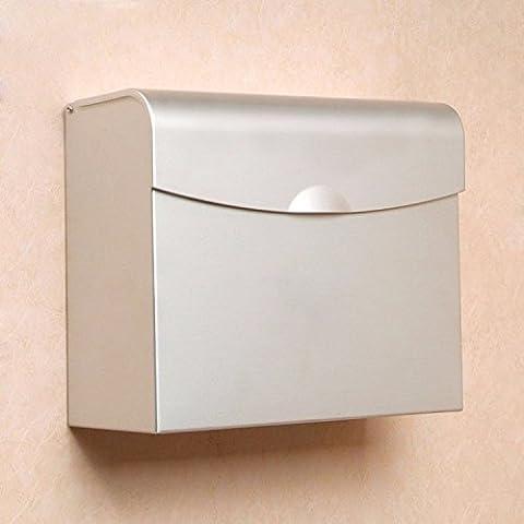 Portarrollos de Papel Higiénico papel higiénico almacenamiento Cesta Bandeja de papel higiénico,Baño caja de pañuelos de papel Portarrollos Papel Higiénico Rollo Bandeja Bandeja de mano