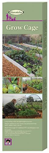 Haxnicks Cadre Cage de forçage pour Jeunes Plants 200x100x60 cm Noir